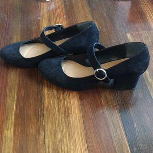 Style & Co Shoes - Black suede heels